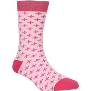 Soxytoes Motifs Crew Length Men's Cotton Minty Fresh ! Cooling  Energizing Socks 1 Pair