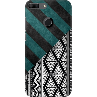 Coberta Case Designer Printed Back Cover For Huawei Honor 9 Lite - Creative Pattern Design
