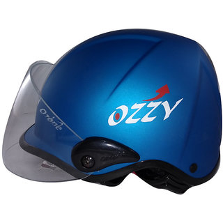 ozone Face Helmet for woman( White, M )