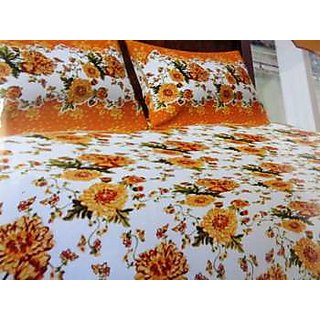 Londonwall Double Bed Sheet with Two Pillow Cover