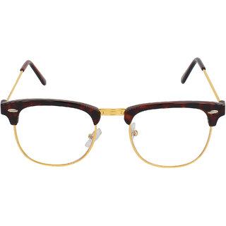 5297ef3b007c David Martin Anti-Refletive (Premium Series Clubmaster) Unisex Spectacle  Sunglasses.(Dmrx003-52Golden Tigerprint).