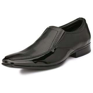 Boggy Confort Black Formal Shoes