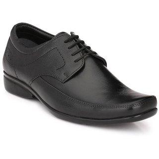 Boggy Confort Black Formal Shoes