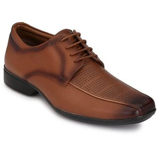 Boggy Confort Tan Formal Shoes