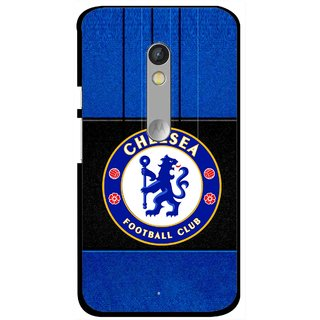 Snooky Printed FootBall Club Mobile Back Cover For Motorola Moto X Play - Multi
