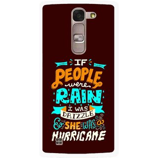 Snooky Printed Monsoon Mobile Back Cover For Lg Magna - Multi