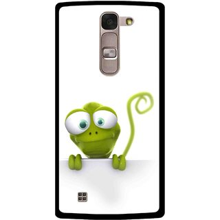 Snooky Printed Seeking Alien Mobile Back Cover For Lg Magna - Multi