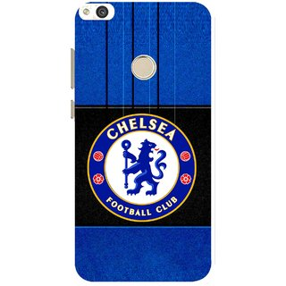Snooky Printed FootBall Club Mobile Back Cover For Huawei P8 Lite (2017) - Multi
