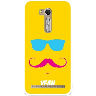 Snooky Printed Yeah Mobile Back Cover For Asus Zenfone Go ZB551KL - Multi