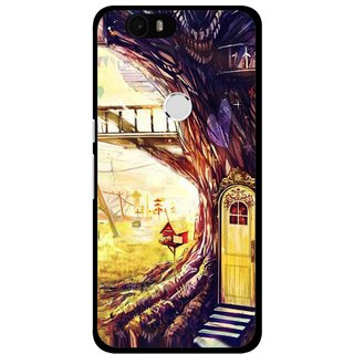 Snooky Printed Dream Home Mobile Back Cover For Huawei Nexus 6P - Multi