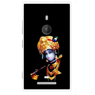 Snooky Printed God Krishna Mobile Back Cover For Nokia Lumia 925 - Multi