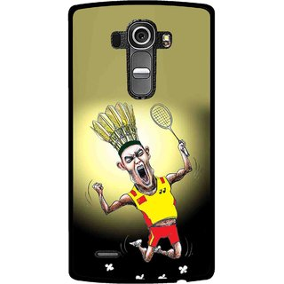Snooky Printed Adivasi Sports Mobile Back Cover For Lg G4 - Multi