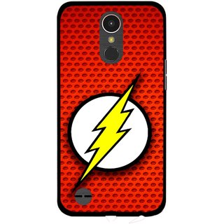Snooky Printed Dont Touch Mobile Back Cover For LG K10 2017 - Multi