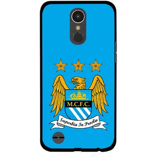 Snooky Printed Eagle Logo Mobile Back Cover For LG K10 2017 - Multi