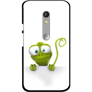 Snooky Printed Seeking Alien Mobile Back Cover For Motorola Moto X Play - Multi