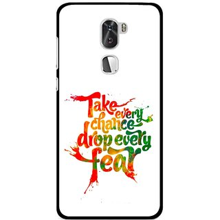 Snooky Printed Drop Fear Mobile Back Cover For Coolpad Cool 1 - Multi