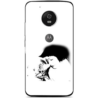 Snooky Printed Pet Lover Mobile Back Cover For Moto G5 - Multi