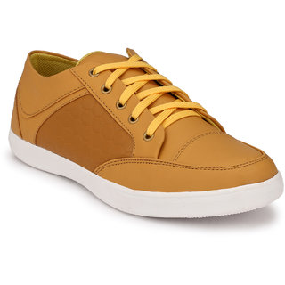 Knoos Men'S Synthetic Leather Stumble Casual Shoes