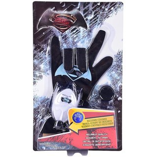 Planet Of Toys Superhero Glove With Disc Launcher (With Light And Sound) For Kids / Children