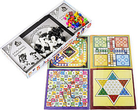 5 in One Game (BIG) Board Game