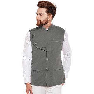 580f8855d20 Buy Hypernation Solid Men s Waistcoat Online - Get 17% Off