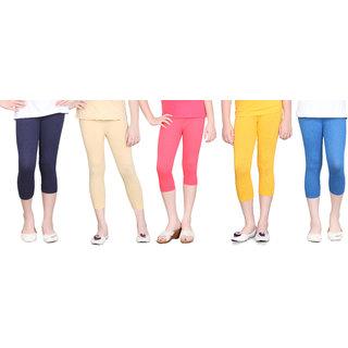 Sini Mini Capri For Girls (Multicolor)