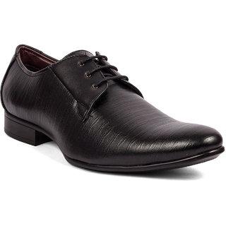 Bata Mens Black Formal Shoe