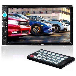 SOUNDFIRE SFX-7010B 7Inch Double Din Touch Screen with  BLUETOOTH/SD/USB/AUX/SCREEN MIRROR/ REAR VIEW CAMERA