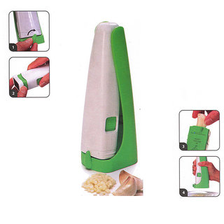 Evershine Multi-purpose Garlic Presser Grater Cube Mashers