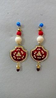 Laxmi Fancy Meenakari Matka Button Set of 6 pics