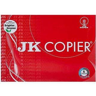 JK Copier 75 Gsm A4 500 Sheets Printing Paper - Pack of 5