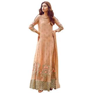Designer Party Wear Pakistani Long Suit Dress Material  For Women