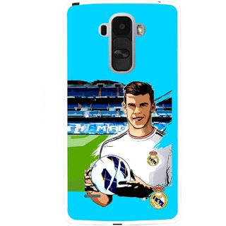 Snooky Printed Football Champion Mobile Back Cover For Lg G4 Stylus - Multi