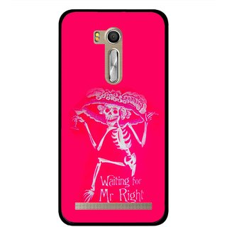 Snooky Printed Mr.Right Mobile Back Cover For Asus Zenfone Go ZB551KL - Multi