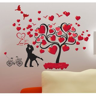 Wall dreams Valentine's A pair with a love season