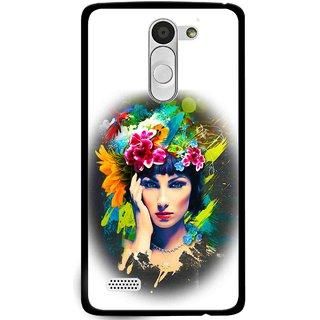 Snooky Printed Classy Girl Mobile Back Cover For Lg L Fino - Multi