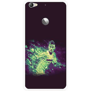 Snooky Printed Running Boy Mobile Back Cover For Letv Le 1S - Multi