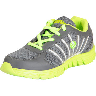 Action Womens Grey Green Mesh Sports Running/Walking/Gym Shoes