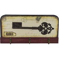 ZEVORA Wall Mounted Key Holder/Key Rack Decorative 3 Ho