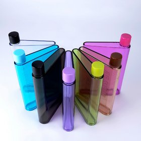 A5 Memo Note Book Ultra Slim 420 ML Plastic Water Bottles (Assorted Colours)