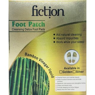 Fiction Foot Patch Toxins Remover, Weight Loss Adhesive (PACK OF 2)