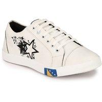 Lavista Men's White Casual Shoe