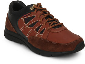 Red Chief Tan Men Casual Leather Shoe RC3459 006