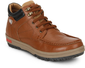 Red Chief Tan Men Casual Leather Shoe RC3475 107