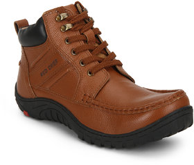 Red Chief Tan Men Casual Leather Shoe RC3476 107