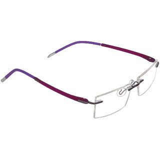 f617bfe037 Buy Zyaden Rectangular Rimless Frame 73 Online - Get 78% Off