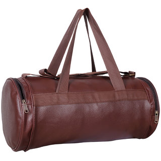 Dee Mannequin Antique Leatherite Gym Bag