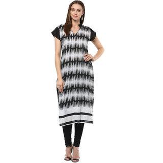Ziyaa Casual Wear Black Coloured Kurta