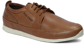 Red Chief Tan Men Casual Leather Shoe RC21001 006