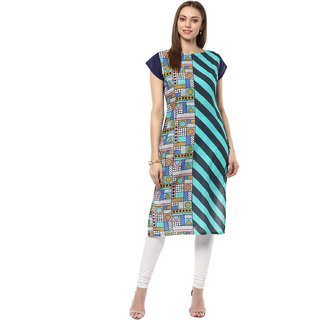 Ziyaa Casual Wear Multicoloured Kurta